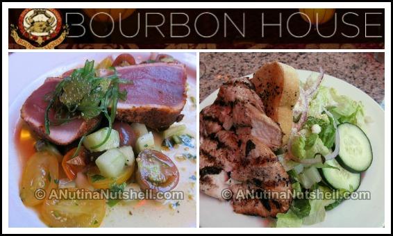 Bourbon House restaurant entrees New Orleans