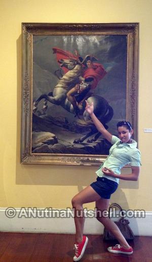Cabildo museum painting - New Orleans