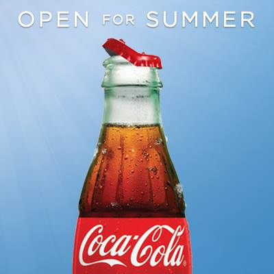 Coca-Cola Open For Summer