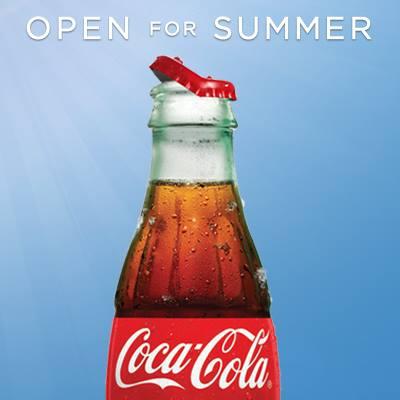Coca-Cola Open For Summer