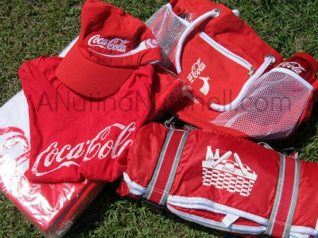 Coca-Cola #bestsummermoment prize pack