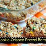 Biscoff Cookie-Crisped Pretzel Bars