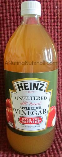 Heinz unfiltered apple cider vinegar