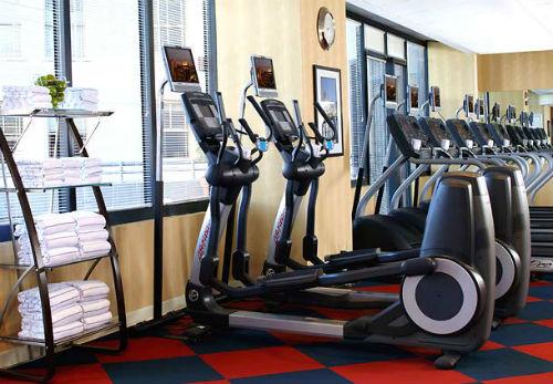 JW Marriott NOLA Fitness room