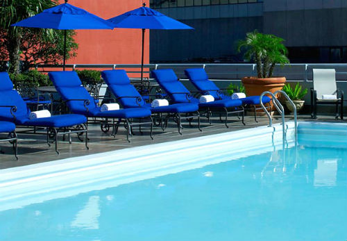 JW Marriott NOLA pool