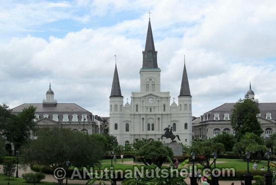 The Cabildo, St Louis Cathedral, The Presbytere - Jackson Square New Orleans