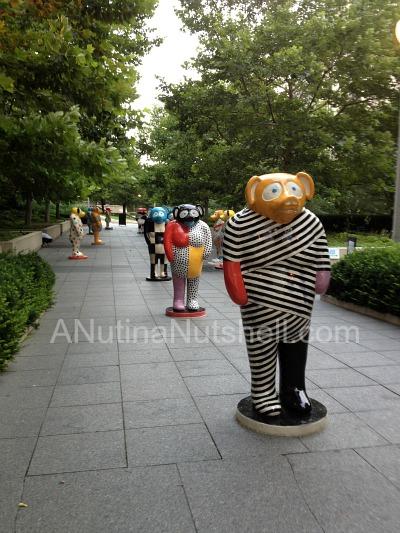 Kanecko sculptures - Millennium Park Chicago