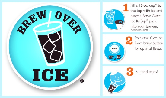 Keurig brew over Ice instructions
