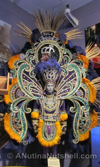 Mardi Gras Parade King's Costume