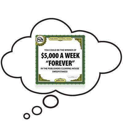 PCH $5,000 a week sweepstakes