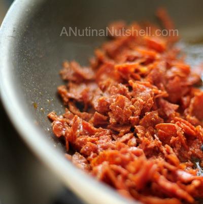 crispy pepperoni