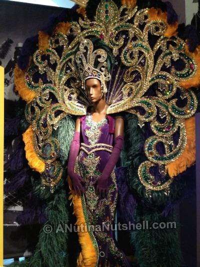 queen costume-Mardi Gras - Presbytere