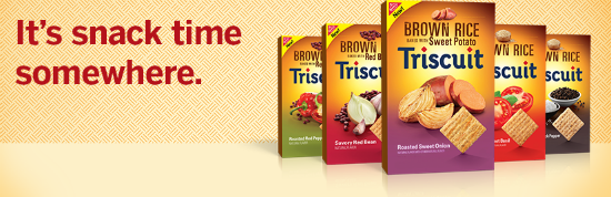 Brown Rice Triscuit Crackers