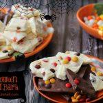 M&M's Halloween Bark  #HarvestFun