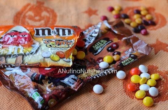 Chocolate M&M's Fall Recipes #shop #harvestfun