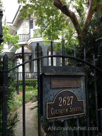New Orleans Garden District Sandra Bullock's house