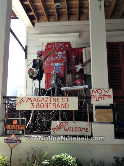 New Orleans Magazine Street 3 Bone Band