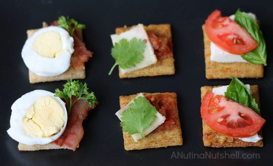 Triscuit appetizers
