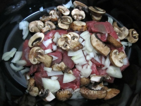 Crock Pot Mixes - Beef Stroganoff