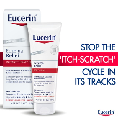 Eucerin Eczema Relief products