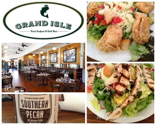 Grand Isle Restaurant New Orleans Louisiana