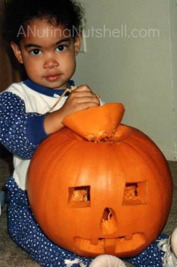 Halloween-DD with pumpkin