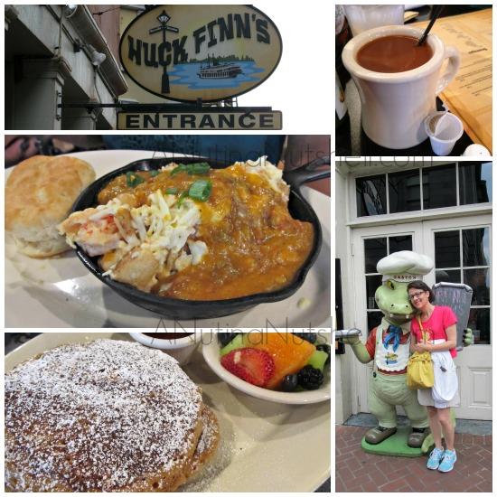 Huck Finn's restaurant New Orleans
