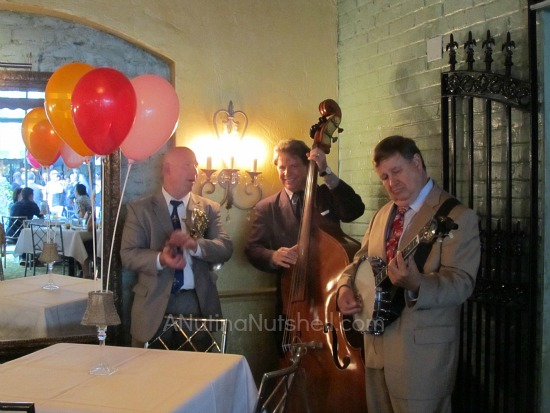 Jazz trio-Jazz brunch at Commander's Palace New Orleans