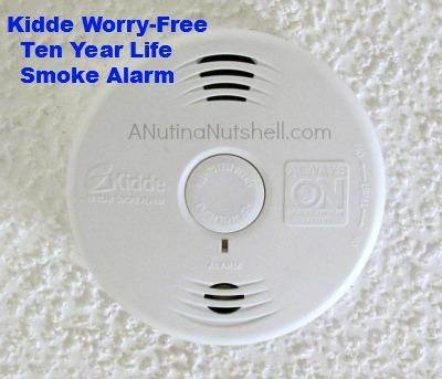 Kidde Worry-Free Ten Year Life Smoke Alarm