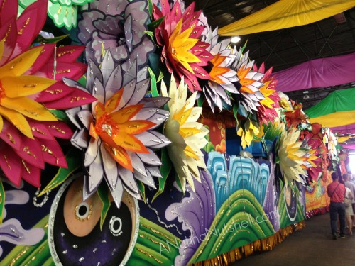 Mardi Gras World parade float