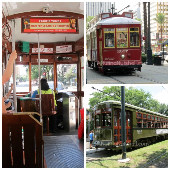 New Orleans trolleys