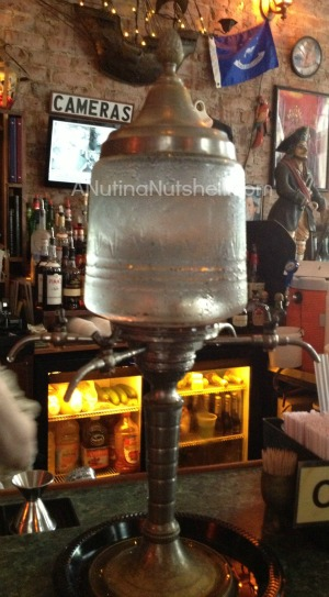 absinthe fountain - Pirates Alley New Orleans