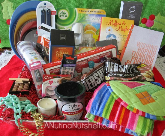 A Nut in a Nutshell - Favorite Things giveaway prize