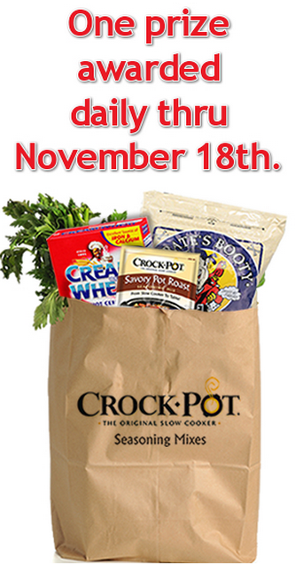 Crock-Pot seasoning mixes voting contest