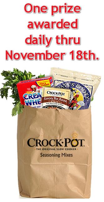 Crock-Pot seasoning mixes voting contest