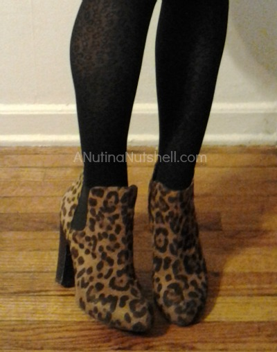 Famous Footwear leopard ankle boots