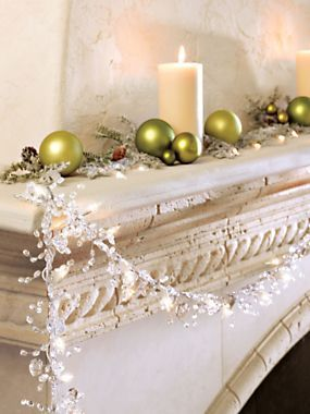 lighted crystal garland solutions