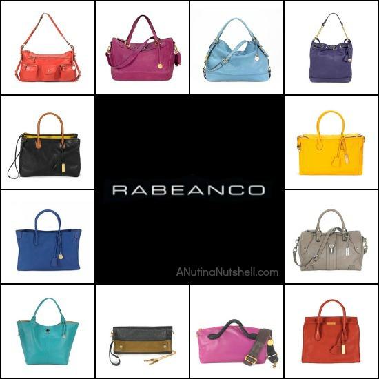 Rabeanco luxury leather handbags