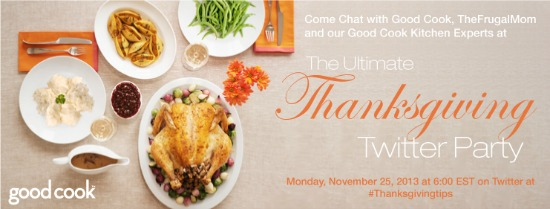 Thanksgiving Twitter party Good Cook