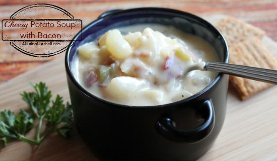 Cheesy Potato Soup with Bacon