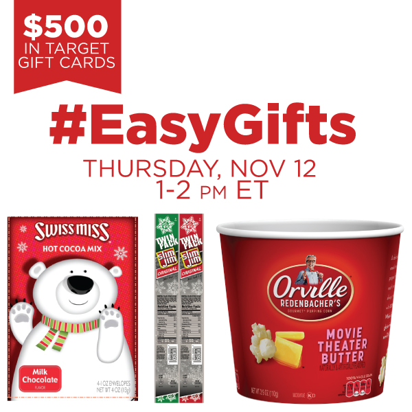 #EasyGifts Twitter party