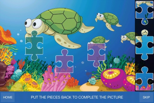 GS Preschool Games - Complete the picture puzzle