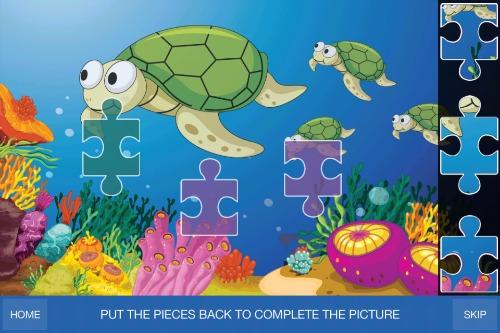 GS Preschool Games - Complete the picture puzzle