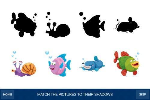 GS Preschool Games-Match the Shadows