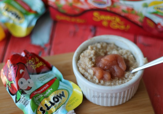Mott's Snack & Go snack idea - 1