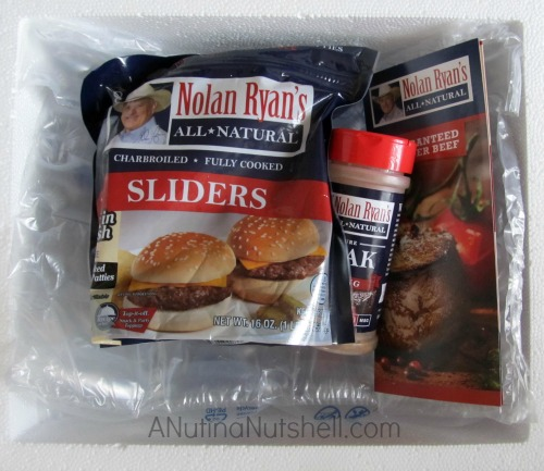Nolan Ryan's All Natural beef order