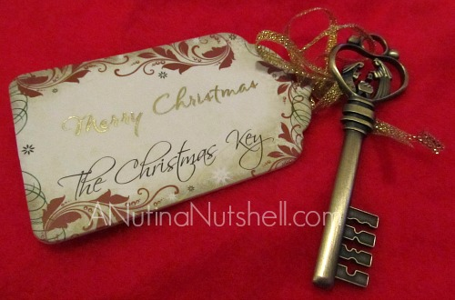 Personal Creations - Christmas Key ornament