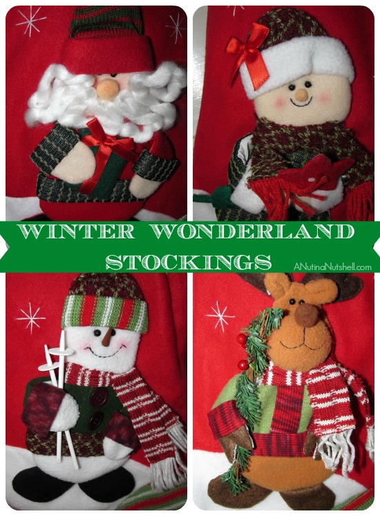 Personal Creations Winter Wonderland Stockings