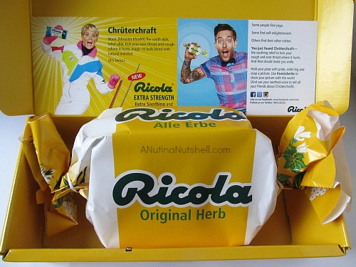 Ricola Chruterchraft cough drop