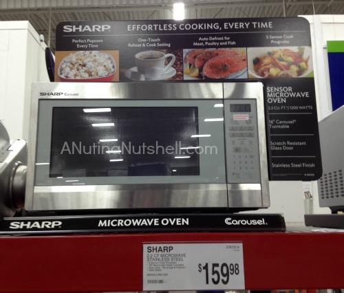 Sam's Club microwave